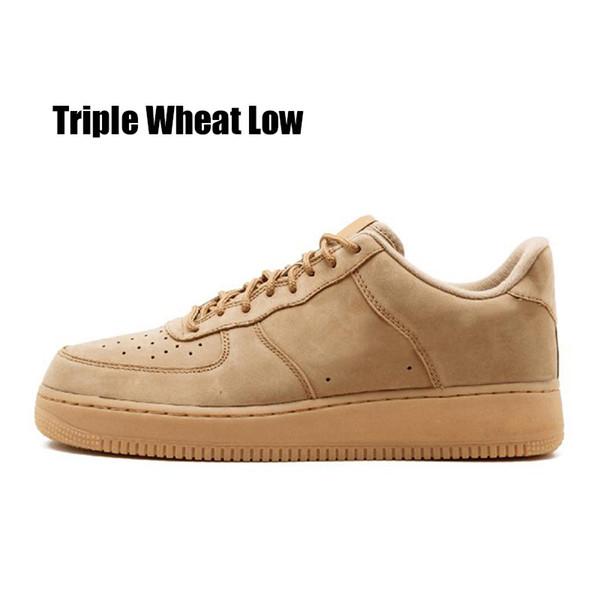 Triple blé faible