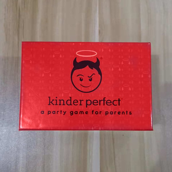 KinderPerfect The Hilarious Parents Party Card Game Kinder Perfect is the new adult party card game IMMEDIATELY DELIVERY
