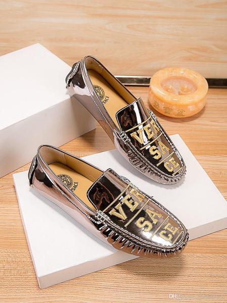 2019 новые кожаные ботинки новые мужские мокасины дышащая обувь из натуральной кожи для мужчин обувь для вождения мокасины бизнес лодка топ мужская обувь