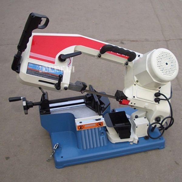 Portable Segatrice di alta qualità della fascia di metallo Segatrice Low Noise Desktop acciaio inossidabile Piccolo 220V 375W
