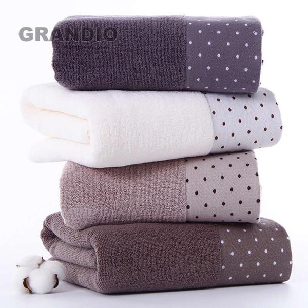100% algodão toalha de banho Set para adulto Cores sólidas malha toalha absorvente cara toalhas de mão Esporte Terry Washcloth Viagem Praia
