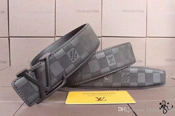 2019hot new fashion Designer brand Belts for Mens High Quality Luxury Printing buckle Belt Genuine Leather Strap Jeans belt