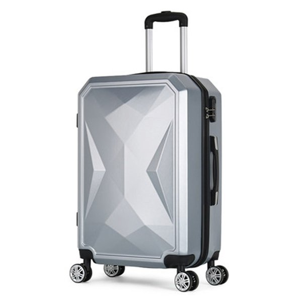 """Travel suitcase set Rolling Luggage set Spinner trolley case 20"""" boarding wheel Woman Cosmetic case carry-on luggage travel bags"""