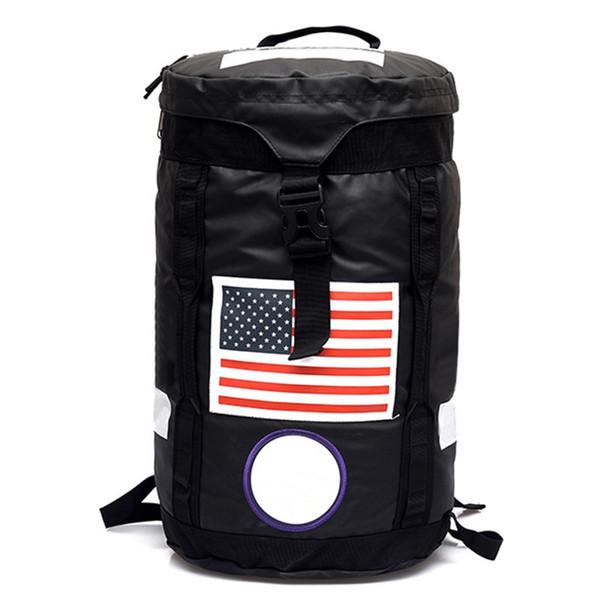 top popular Luxury Designer Backpack Men Women High Quality Large Capacity Camping Bag Gym Bag Box Logo Fashion Backpack 2019