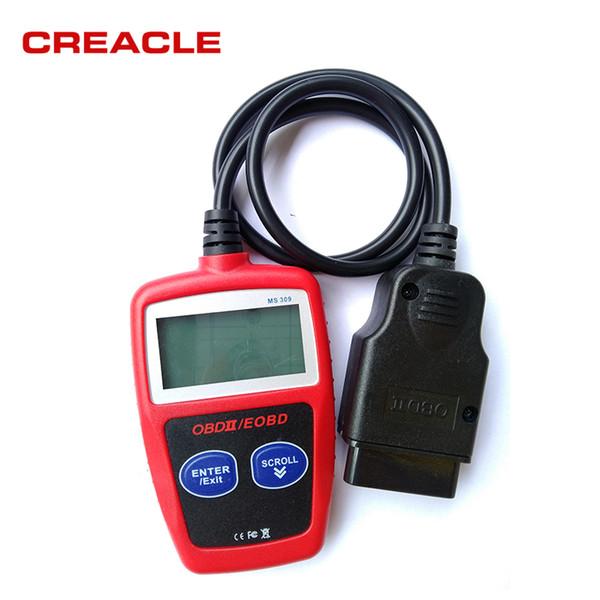 Outil de diagnostic professionnel MaxiScan MS309 OBD2 OBDII Lecteur de code scanner voiture MS 309 OBD 2 Livraison gratuite
