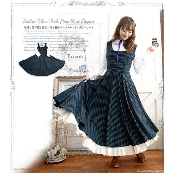 vintage sweet lolita dress slim peter pan collar lattice victorian dress kawaii girl gothic lolita op loli fake two pieces cos