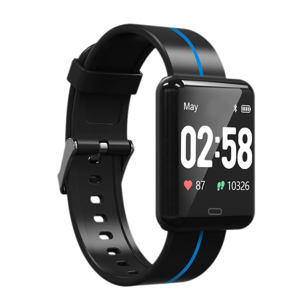 New Style F5 Smart Bracelet Blood Pressure Heart Rate Monitor Wristband Fitness Tracker Ip67 Smart Watch For Xiaomi Ios Androi
