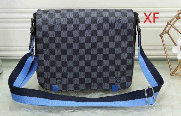 Çantalar Oluklu Vintage deri omuz askısı moda Kadın erkek çanta zinciri Crossbody Çanta Marka Çantası 032
