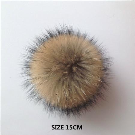 raccoon fur 15cm