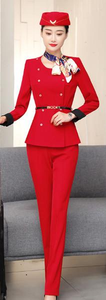 Pantaloni stile rosso
