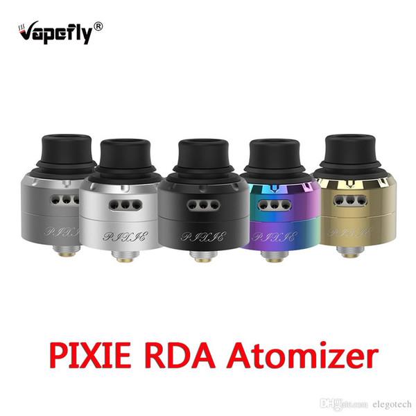 100% подлинный Vapefly Pixie RDA танк совместим с большинством Squonker модов одной катушки 510 нить BF Squonk Pin Vapefly электронный распылитель