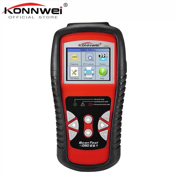 Precio de fábrica OBDII EOBD CAN Scanner tool KW830 Auto Code Reader odb2 diagnóstico Trabajo para Renault mejor que MaxiScan MS509