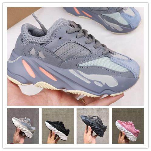 Kids Running Shoes Kanye West Wave girl boy youth Runner 700 Youth Shoes Trainers Sply Children Sports Sneakers Toddler Shoes Size :28-35