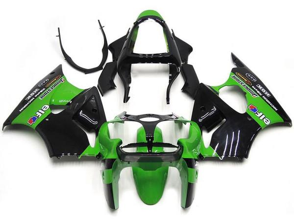 New ABS fairings Fit For Kawasaki Ninja ZX636 ZX-6R ZX-636 636 6R ZX6R 00 01 02 2000 2001 2002 Free custom green black