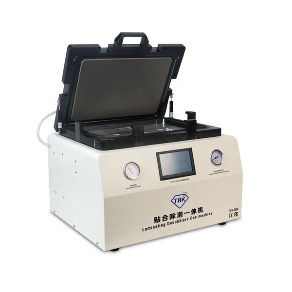 TBK-308A 15 pulgadas táctil LCD de reparación de la pantalla de burbujas automática de la máquina después de OCA de laminación de vacío de la máquina con bloqueo automático g