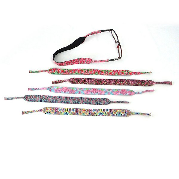 Stretchy Sport Sonnenbrille Strap Fashion Cord Inhaber Brillen Ketten Outdoor Sonnenbrille Band Schutz Party Geschenk TTA889