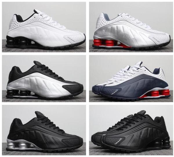 air Shox Deliver 809 Chaussures de course au large, Blanc, gros LIVRER OZ NZ Hommes Chaussures de sport Chaussures de sport de sport designers chaussures