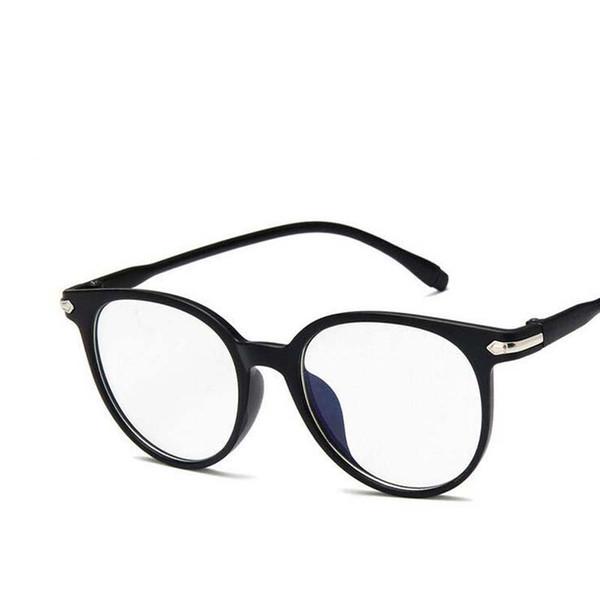 Fashion Blue-ray Clear Optical Spectacle Frame Brand Anti-fatigue Eyewear Plain Computer Glasses Myopia Lens Frame Unisex