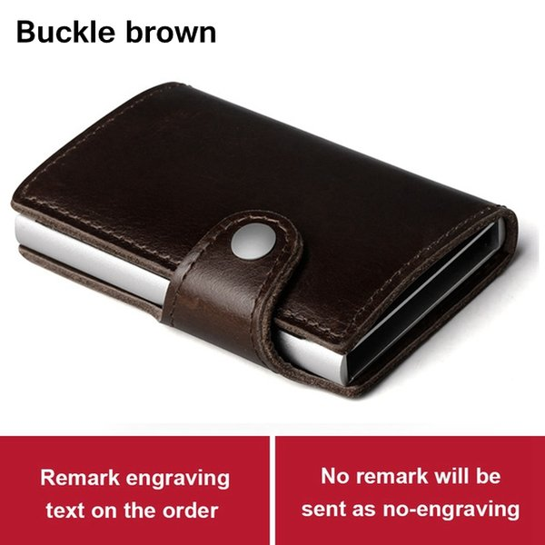 Buckle brown