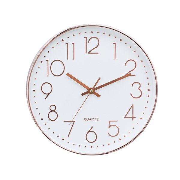 Simple Fashion Wall Clock Silent Household Mute Modern Design Wall Clocks Decorative Relogio Parede Nordic Decoration ZX50WC