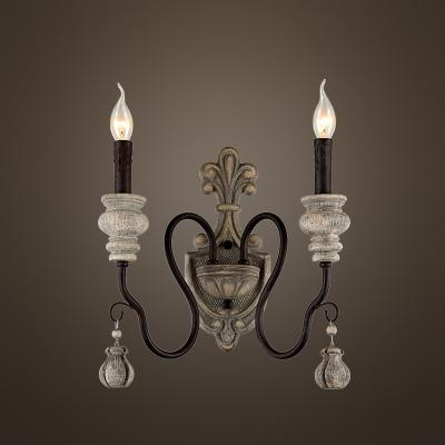 2 light wall lamp