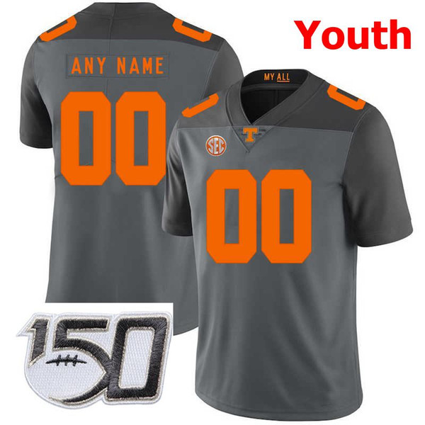 Youth Gray With 150th Patch