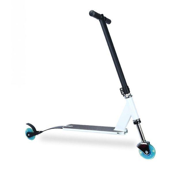 Shouhutongnian S5 Scooter Urban Gift Brake Extreme Leggero Altezza regolabile a due ruote Ruota di skateboard Pu guida portatile