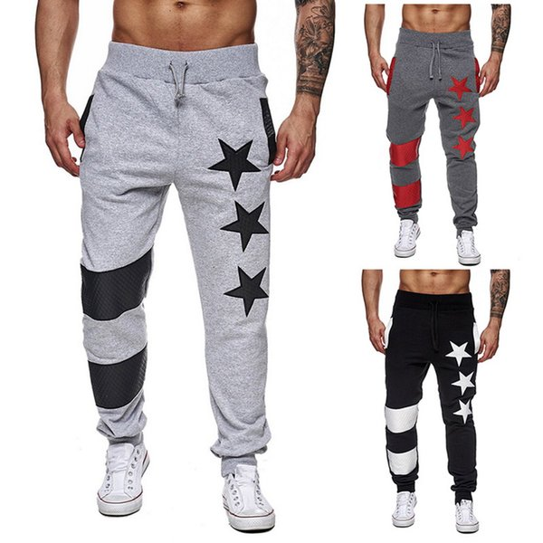 Punisher Skull Mens Open Hem Jogging Bottoms Joggers Mens Trousers Gym Work Out