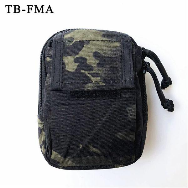 TB-FMA Nuovo Tactical Marsupio Molle Pouch Multicam Caccia Nero Airsoft Piccoli Strumenti Borse per Tactical Vest / Belt Spedizione Gratuita # 351935