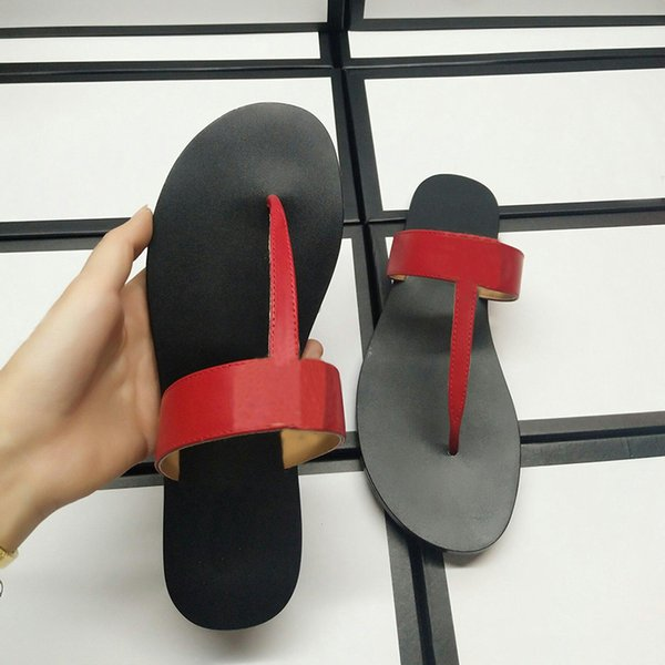 Summer Outdoor Non-Slip Beach Shoes Fashion Letter Simple Style Casual Slippers Personality Women Casual Flip Flop