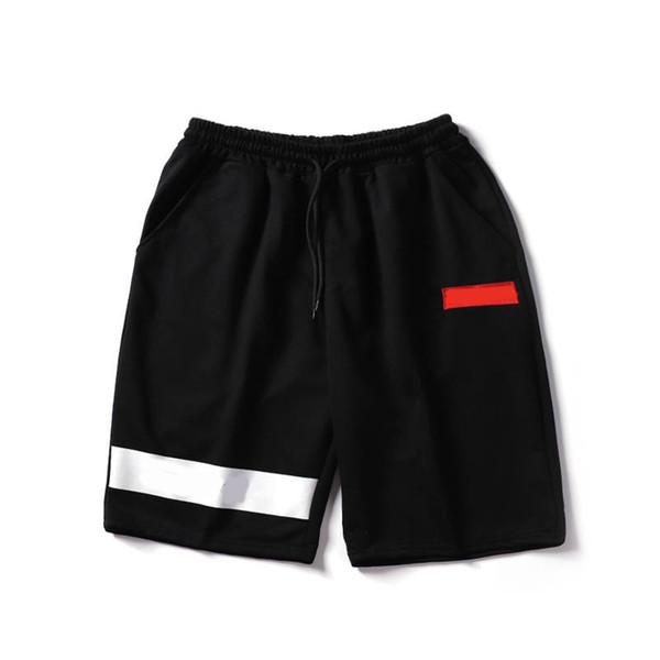 più foto 86f67 13633 Acquista Suprême Pantaloncini Classico Marchio Mens Designer Pantaloni  Corti Cotone Popolare Hip Hop Pantaloni Da Spiaggia Da Spiaggia Uomini ...