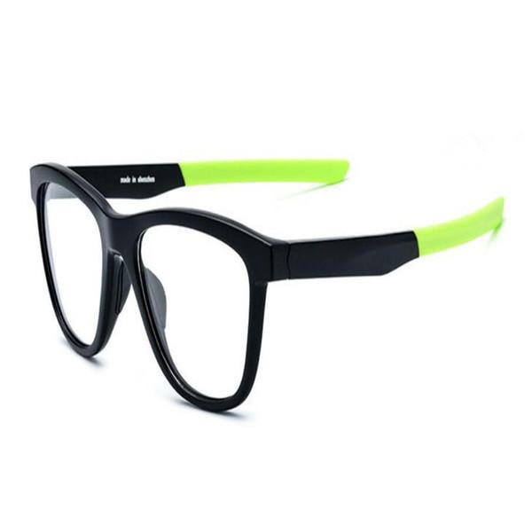 Unisex New Fashion Full Rim Acetate TR90 Ultralight Myopia Eyeglasses Frame Clear Lens Brand Design Optical Eyewear Spectacle