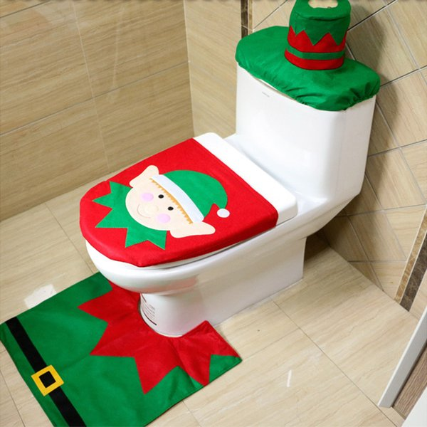 Fantastic 2019 Toilet Seat Covers Christmas Decoration Santa Elk Elf Toilet Seat Covers Rug Hotel Bathroom Set Xmas Gift Supplies Wx9 91 From Jenmor 8 91 Squirreltailoven Fun Painted Chair Ideas Images Squirreltailovenorg