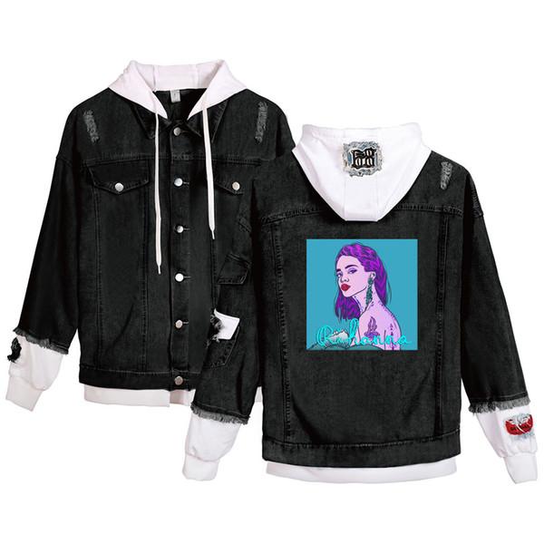 Rihanna Fashion Denim Jackets Men/Women Casual Bomber Jackets Hip Hop Chaqueta Retro Hoodies Streetwear Dropshipping