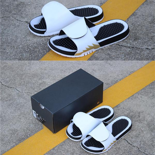Top Quality Luxury Slides Brand Designer Men Summer Sandals Beach Slide Fashion Designer Men Slippers Indoor Shoes Size EUR 36-47