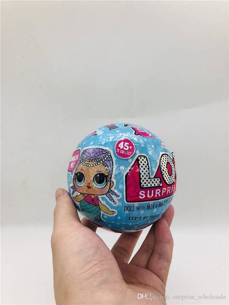 best selling 10CM Series 2 glitter Limited edition doll Cute Action Figures New Dolls Girls' Egg Toys detachable kid toy