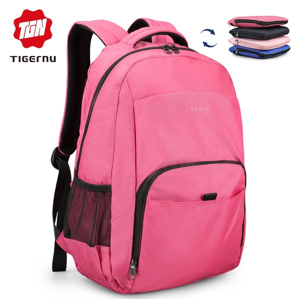 Tigernu Ultra Light Weight Portable Unisex Folded Travel Bag Backpack both for girl and boy