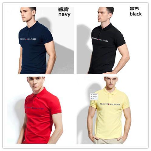 polo men ralph Crew Neck Pink T-shirt Summer New Men Women Tee Hip Hop Casual T-shirt 9 Colors