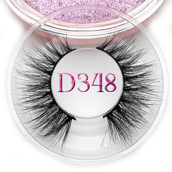 Mikiwi 1 box mink eyelashes natural long 3d mink lashes hand made false eyelashes full strip lashes makeup false eyelash
