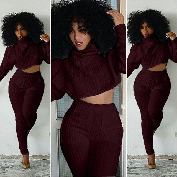 High quality knitting jumpsuits 2 pcs casual cotton winter rompers jumpsuits women overalls vestidos New 2017 S-XXL