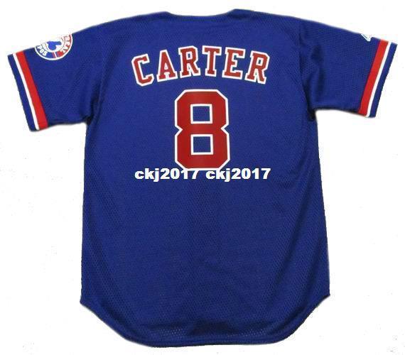 Cheap Custom GARY CARTER Montreal Stitched 1992 Majestic Vintage Baseball Jersey Retro Mens Jerseys Running