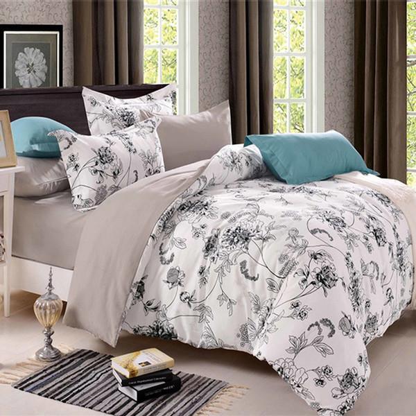 Luxus Chinesischen Landhausstil Tröster Bettwäsche-sets Land Quilts Abdeckung Baumwolle Queen Size / King Size Silk Bettwäsche Set