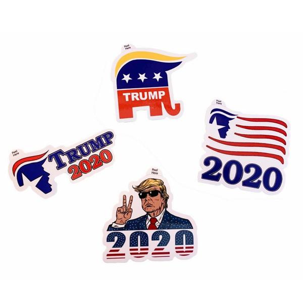 Il presidente degli Stati Uniti Trump Adesivi creativa Trump tifosi Laptop Sticker Mobilio Moda Aereo poster casa decorazione del partito 100sets TTA1262