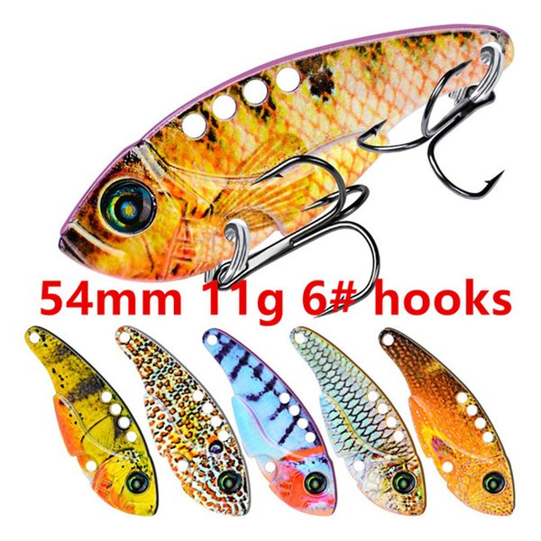 54mm 11g 6# hooks