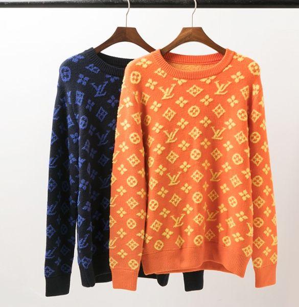 Hombres 19SS nuevo de la venta mujeres de lujo suéteres Marca de moda suéter de manga larga blusa ocasional Ejecución de alta calidad al por mayor B101634Q capucha