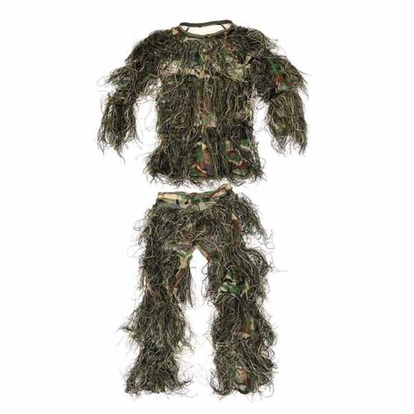 Children Jungle Suit Camouflage Hunting Clothes Kids Uniform Combat Clothes