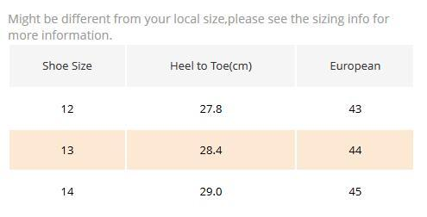 US13=44=28.4cm