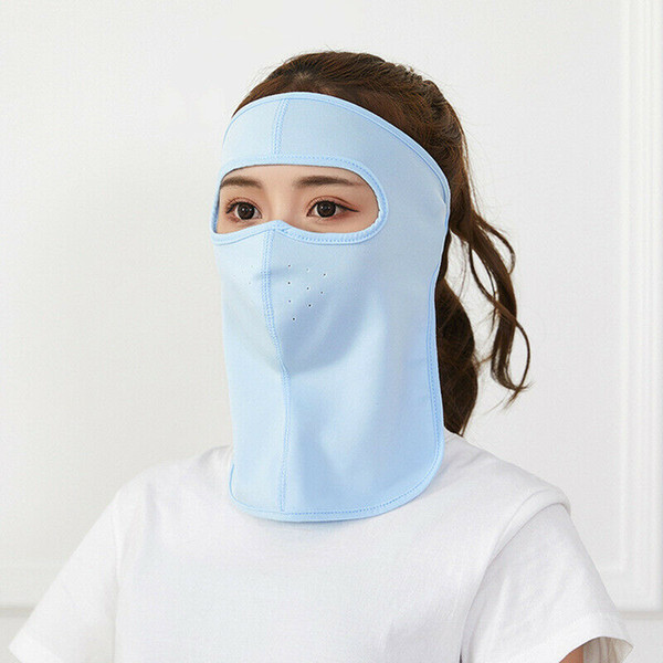 Anti-Dust UV Protection Mouth Face Mask Neck Unisex Mens Womens Cycling Summer
