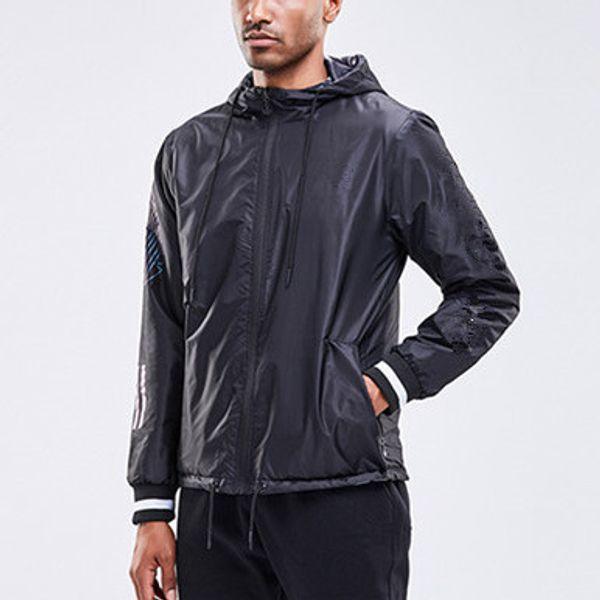 Mens doppelseitige tragbare Marke Hoodieswindbreaker Jacken doppelseitige Reißverschluss Mantel mit Kapuze Designer Sweatshirt Herbst Sport LJJ198273