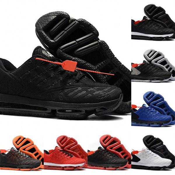 Klasik Maxes 2019 Moda Örgü Nefes Siyah Kırmızı Beyaz Tasarımcı Adam Koşu Ayakkabıları Vintage DLX Spor Sneakers En İyi Kalite Ile kutu